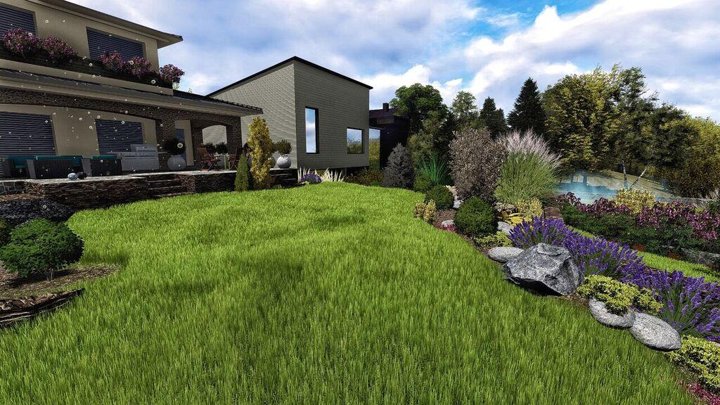 Kompletné projektovanie a návrhy záhrad Realizácie záhrad - DreamGardens Košice