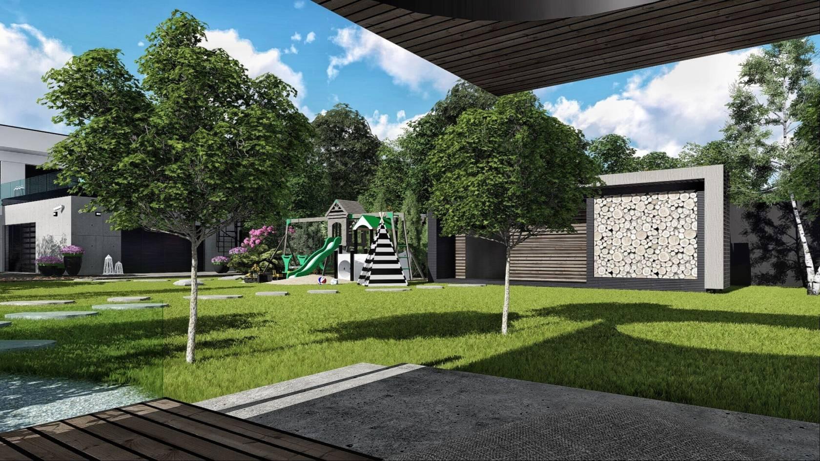 Projekt zahrada Koscie 02