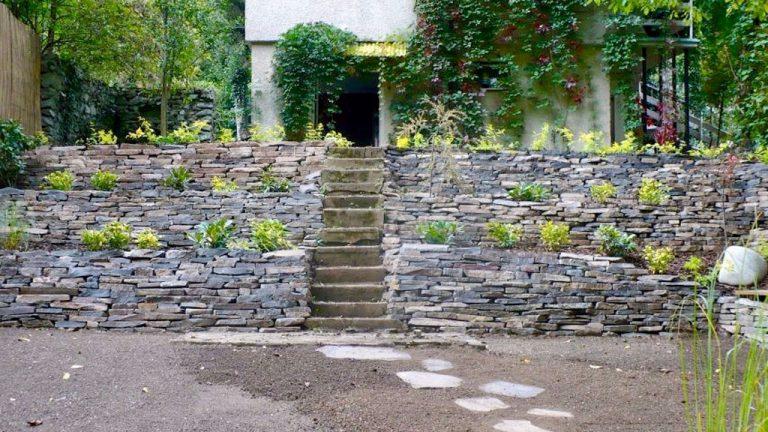 Kamenné múriky (suché, murované) a gabiony