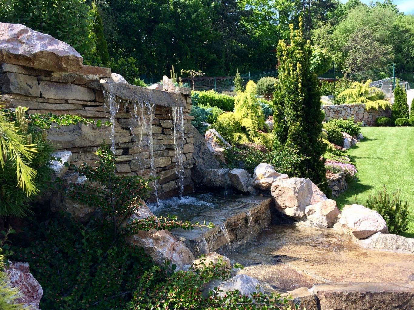 vodny prvok v zahrade